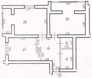 Двокімнатна квартира № 90