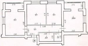 Трикімнатна квартира № 31
