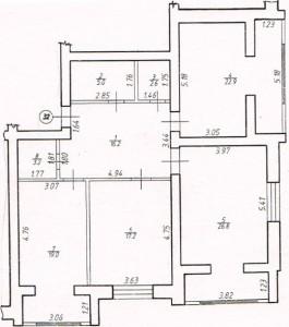 Трикімнатна квартира № 32