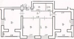 Трикімнатна квартира № 71