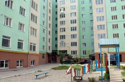 новобудова в Івано-Франківську
