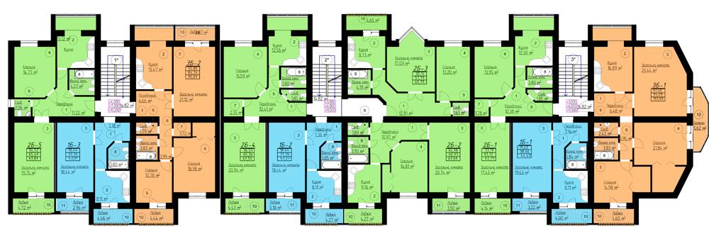 Типовий план квартир